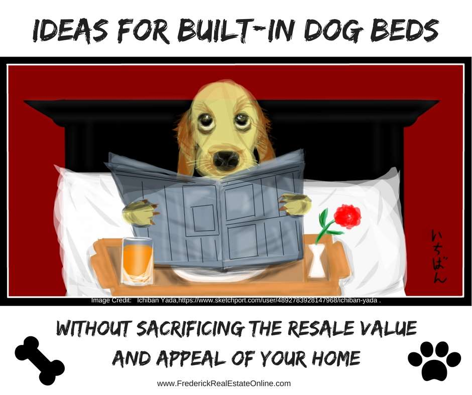 Home Design Trend - Built-In Dog Beds