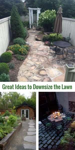 downsize the lawn