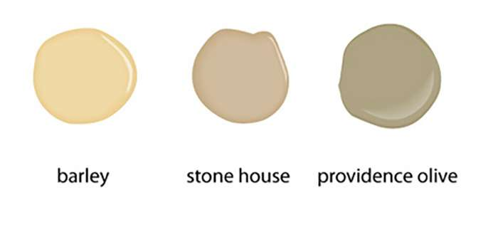 A neutral color palette in home staging for Rich neutral paint colors