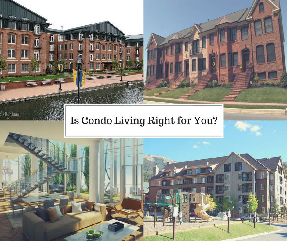 is condominium living right for you?