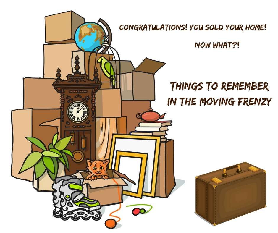 Things to Remember in the Moving Frenzy