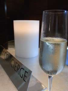 Champange @ Concierge Desk