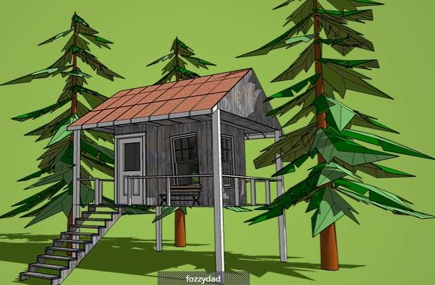 Tree Houses for the Grown Ups