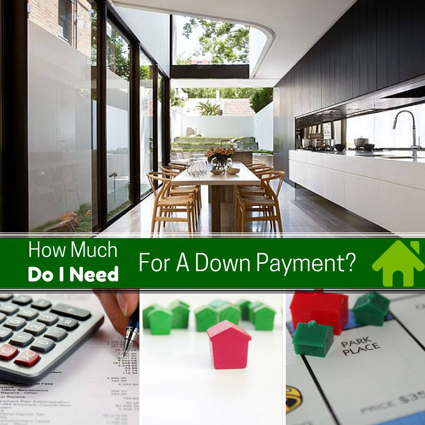 how much for a downpayment on a house?