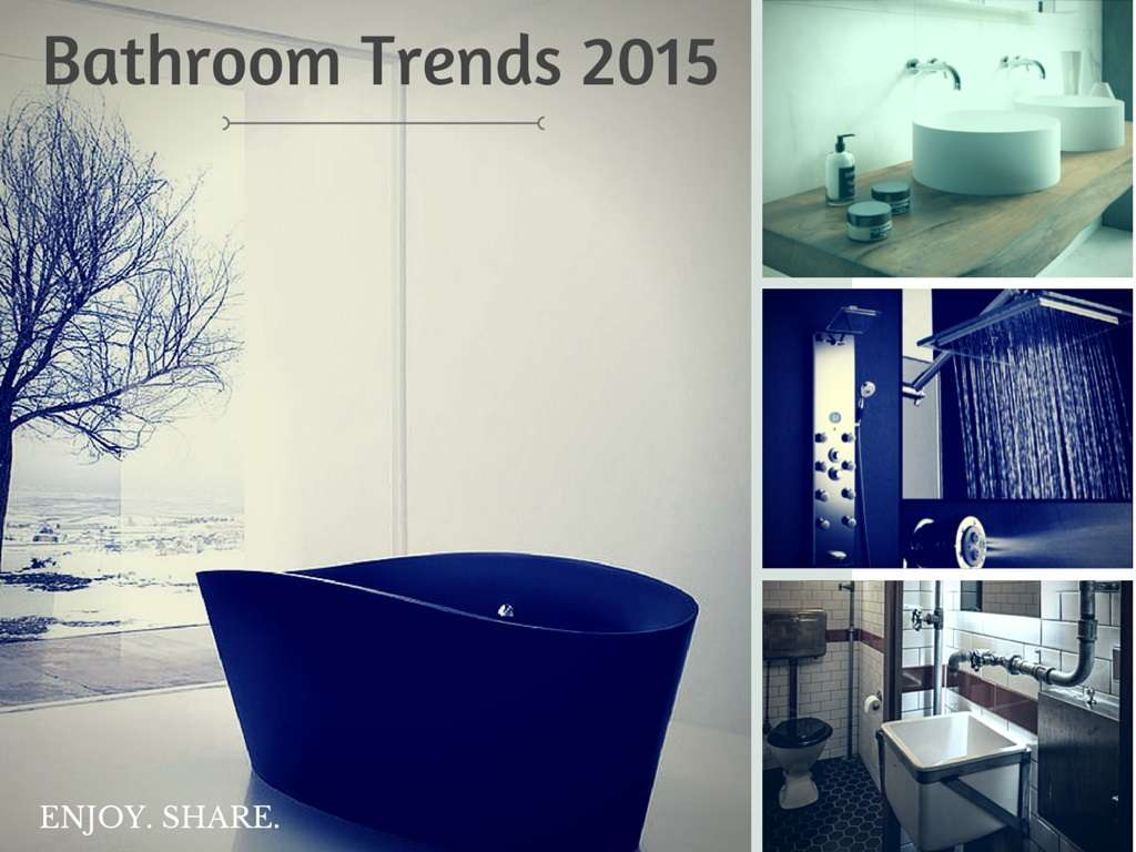 Bathroom Design Trends 2015