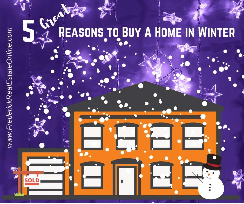 Reasons to Buy A Home in Winter