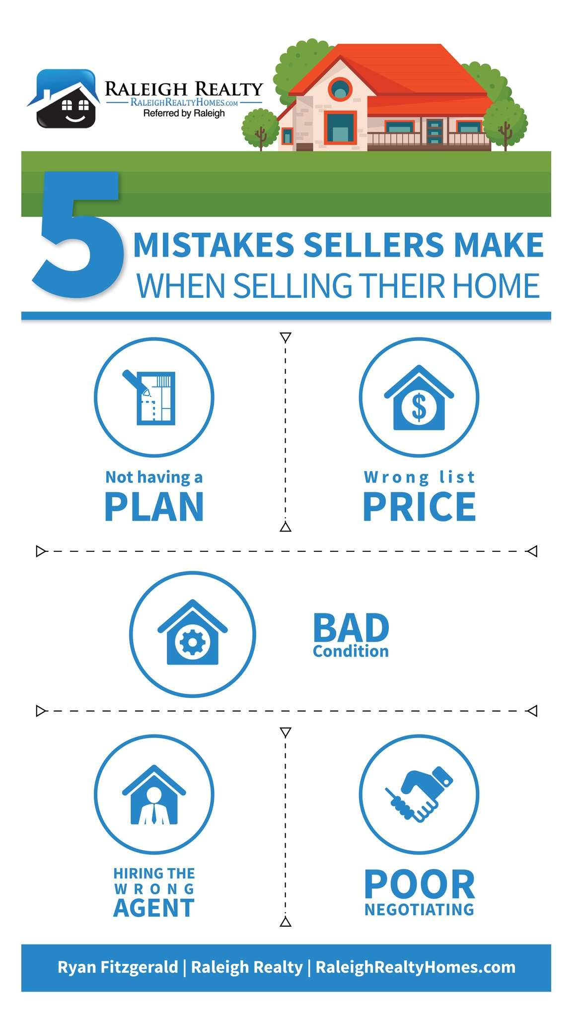 home selling mistakes avoid