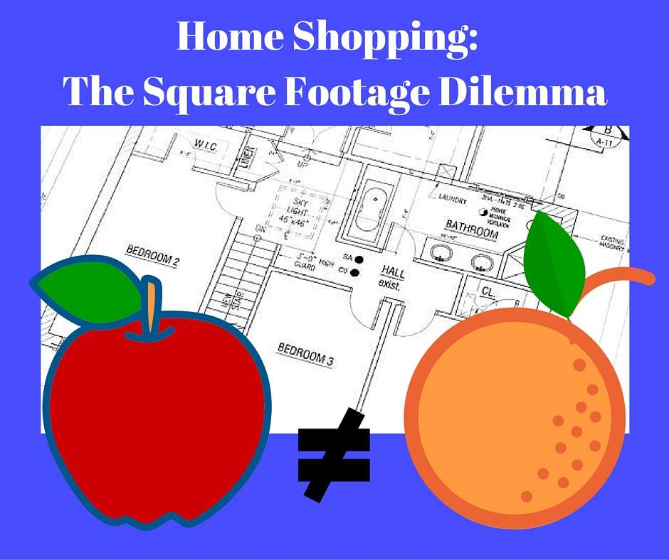home shopping square footage dilemma