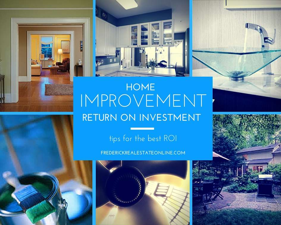 home improvement roi frederick real estate online