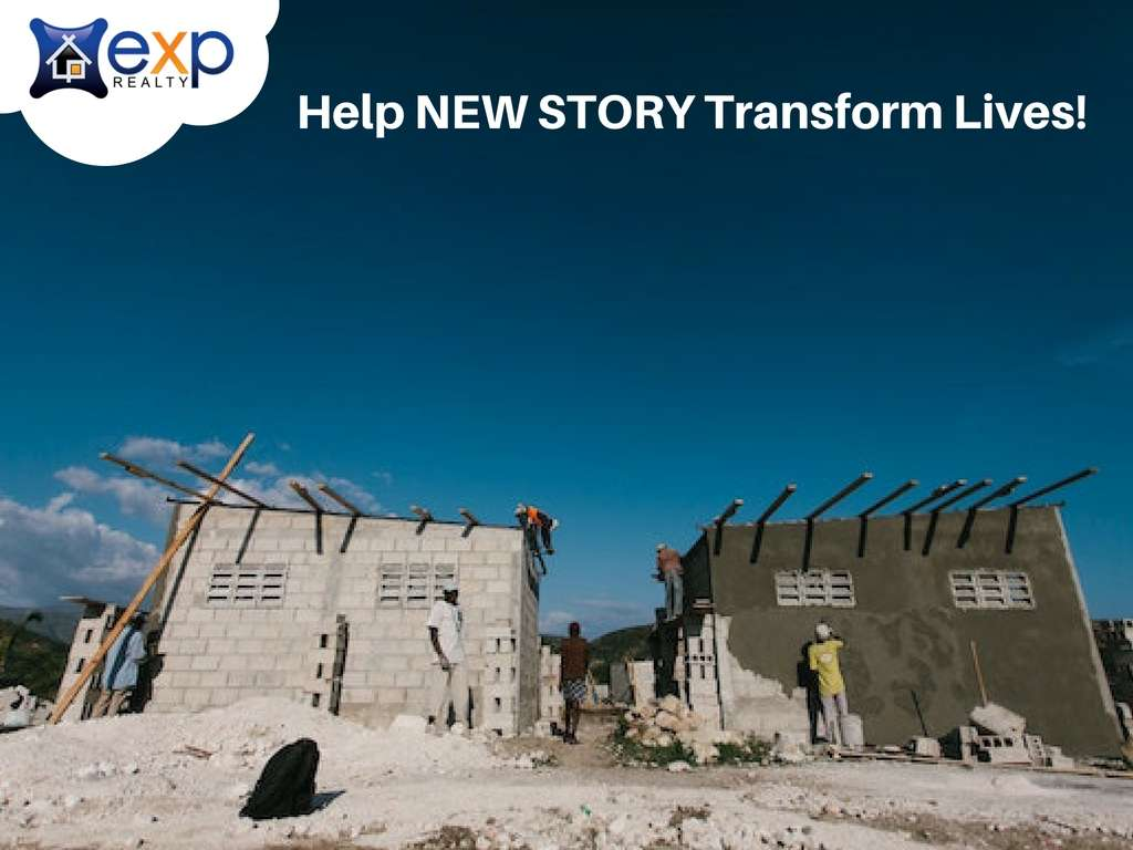 eXp Realty Partners with Home-Building Non-Profit New Story