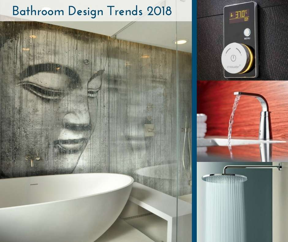 Bathroom design trends for Bathroom designs 2018