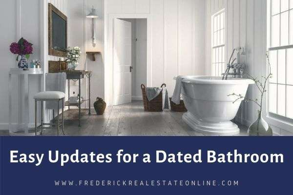 easy updates for bathroom