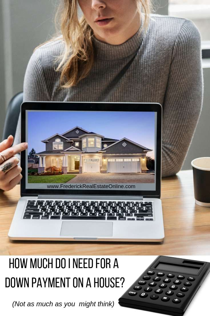 how much do I need for downpayment