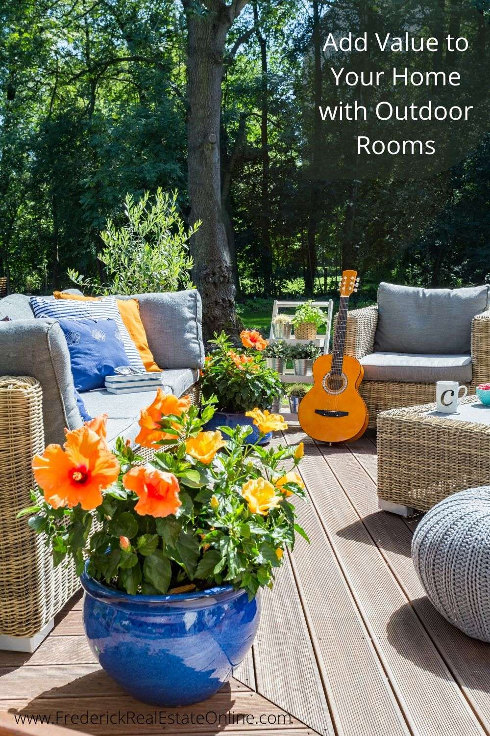 add value to your home with outdoor rooms