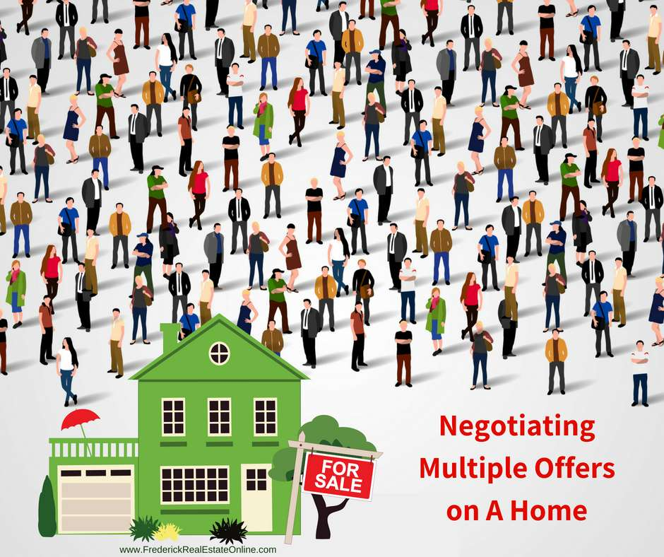 negotiating multiple offers on your home