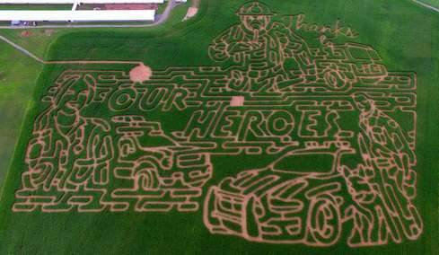 corn mazes in Frederick County MD