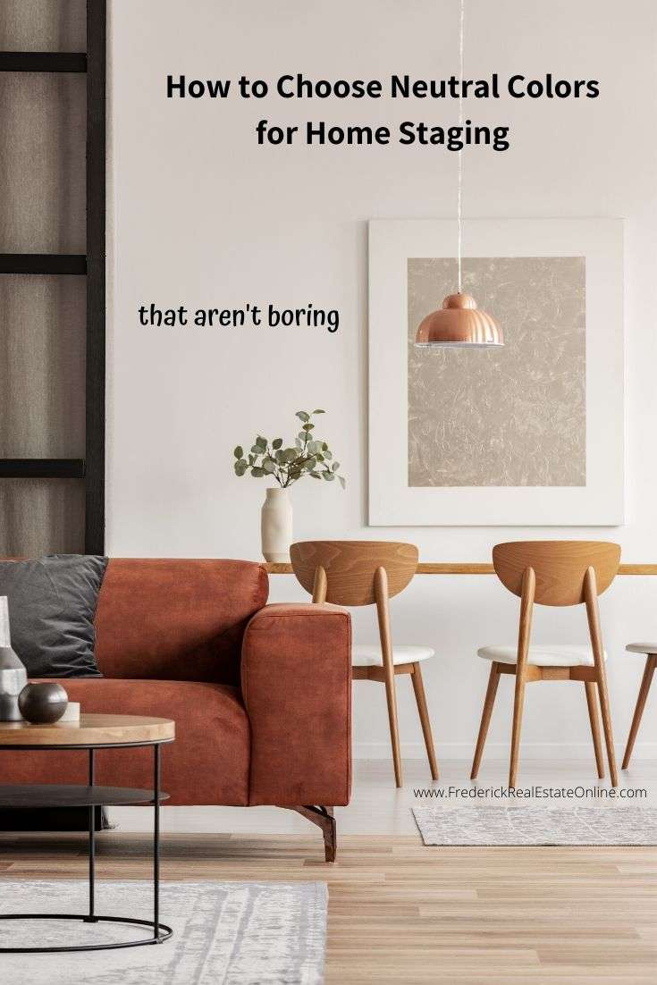 Colors for home staging