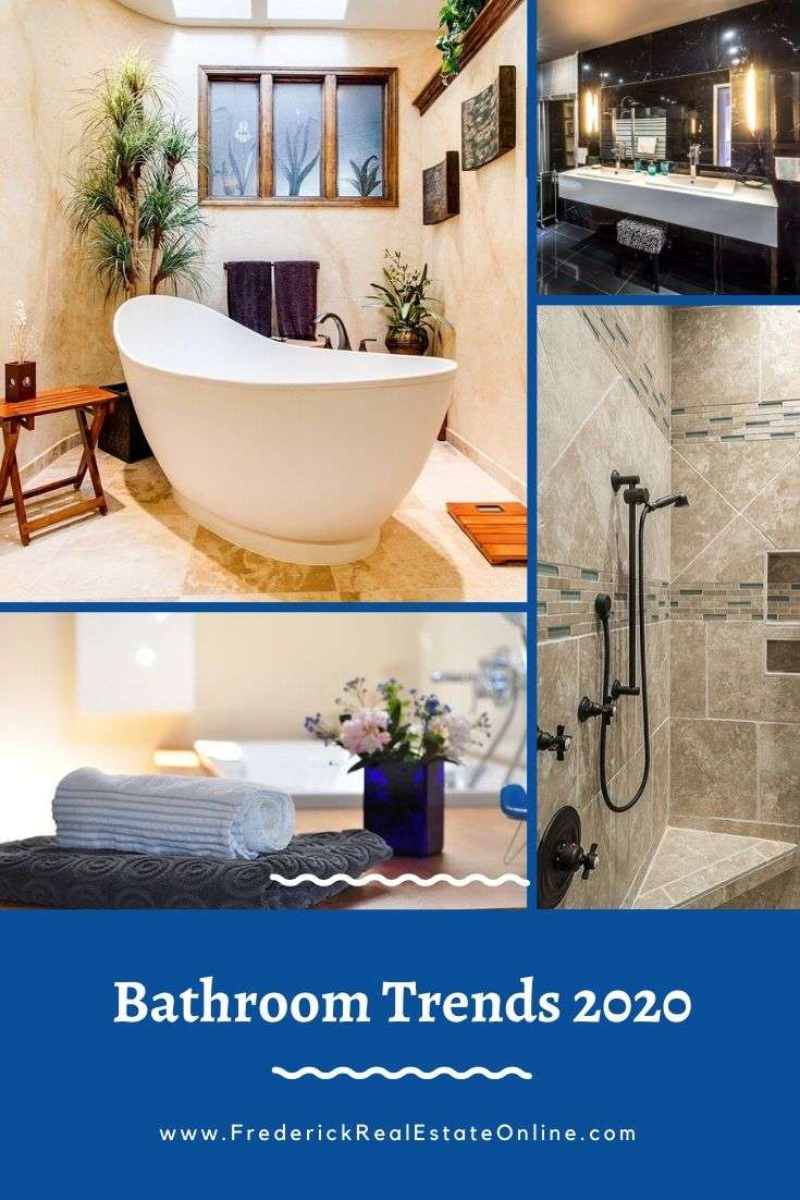 Pinterest bathroom trends 2020