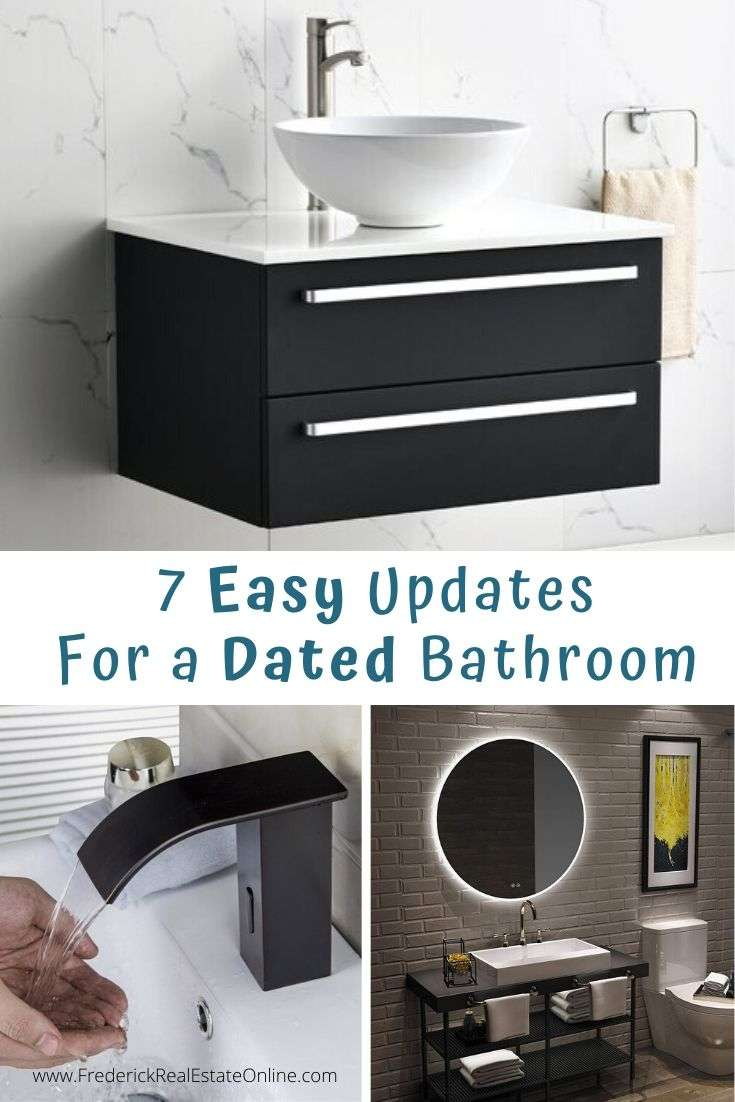 easy updates for the bathroom