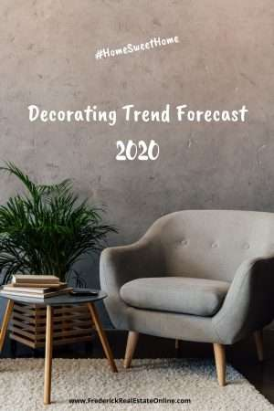decorating trend forecast 2020
