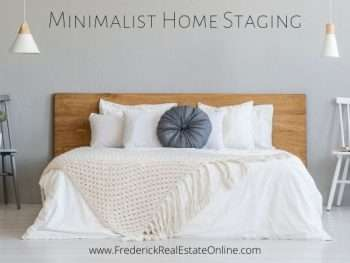minimal home staging