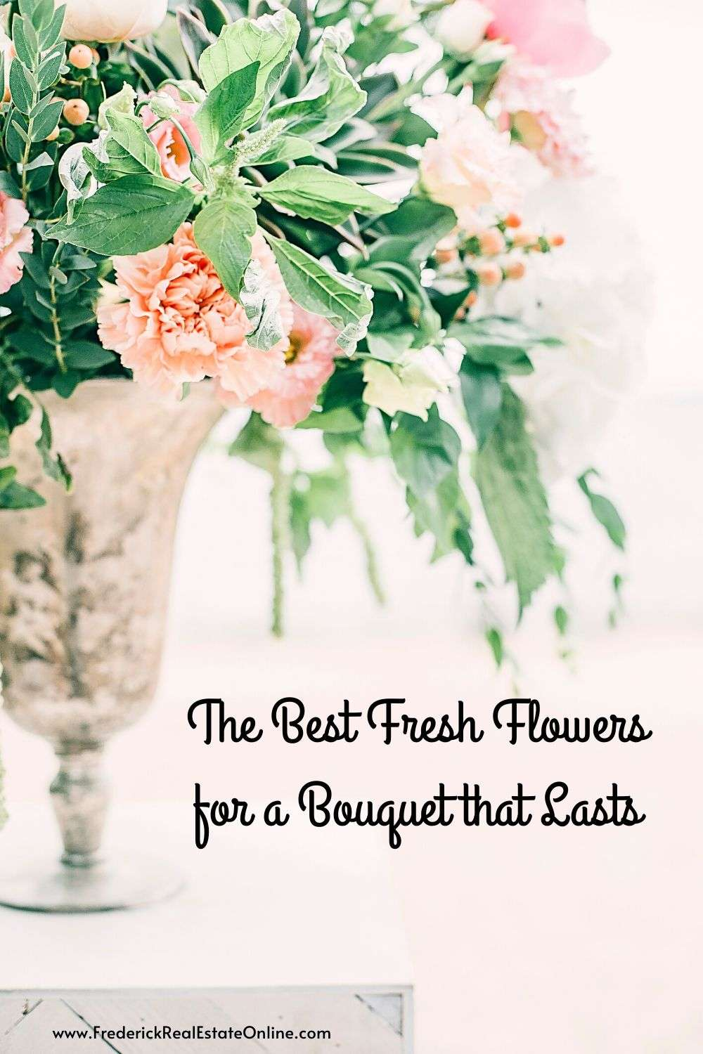 best fresh flowers for lasting bouquets
