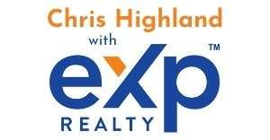 chris highland with exp realty logo